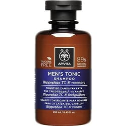 Apivita Men's Tonic Shampoo with Hippophae TC & Roremary 250ml