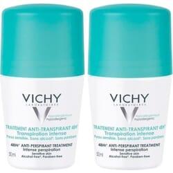 Vichy Anti-Transpirant Roll-On 48h 50mlx2