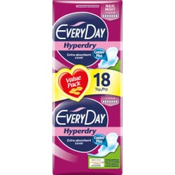 Every Day EveryDay Hyperdry Maxi Night Ultra Plus Value Pack 18τμχ