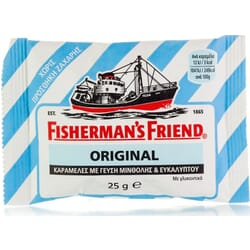 Fisherman's Friend Original No Sugar Μέντα Ευκάλυπτος 25gr