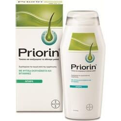 Priorin Σαμπουάν Κατά της Τριχόπτωσης για Λιπαρά/Αδύναμα Μαλλιά 200ml
