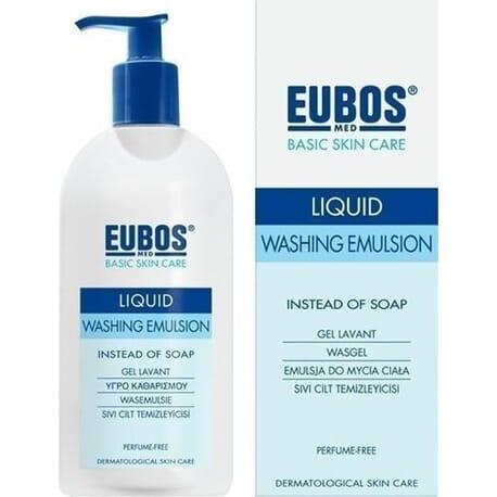 Eubos Blue Liquid Washing Emulsion 400ml
