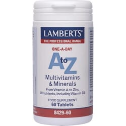 Lamberts A to Z Multivitamins 60 ταμπλέτες