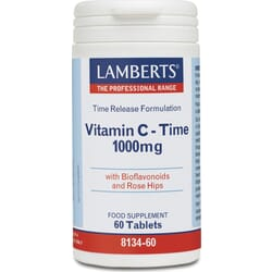 Lamberts Vitamin C Time Release 1000mg 60 ταμπλέτες