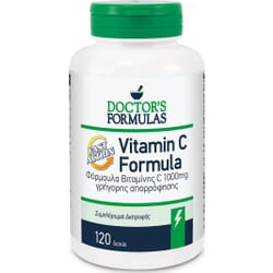 Doctor's Formulas Vitamin C Fast Action 1000mg 120 κάψουλες