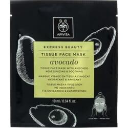 Apivita Express Beauty Face Mask Tissue Avocado 10ml