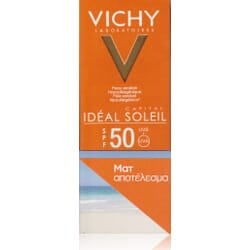 Vichy Ideal Soleil Mattifying Face Fluid Dry Touch SPF50 50ml